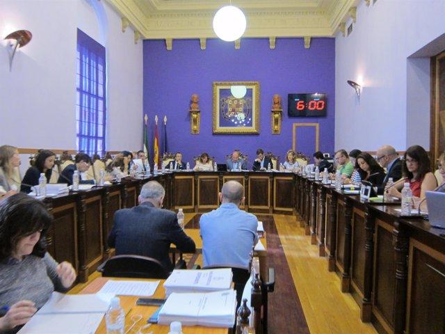 Pleno del Ayuntamiento de Jaén