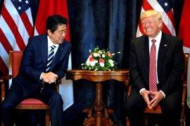 """Trump dice que Corea del Norte es """"un gran problema"""" pero espera que se resuelva"""