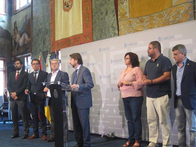Alonso y los alcaldes