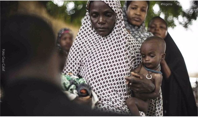 Nigerianos necesitan ayuda humanitaria