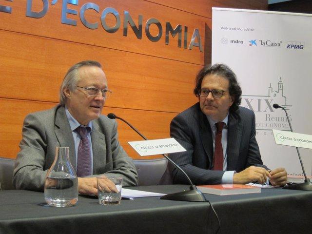 Josep Piqué y Jordi Alberich