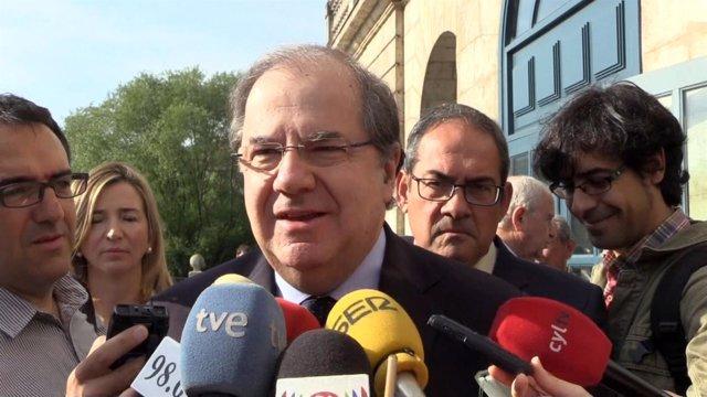 Burgos.- Herrera responde a los medios