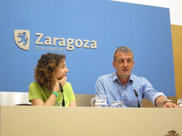 Fernando Rivarés y Arantza Gracia