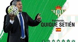 Quique Setién, nuevo entrenador del Betis para las próximas tres temporadas