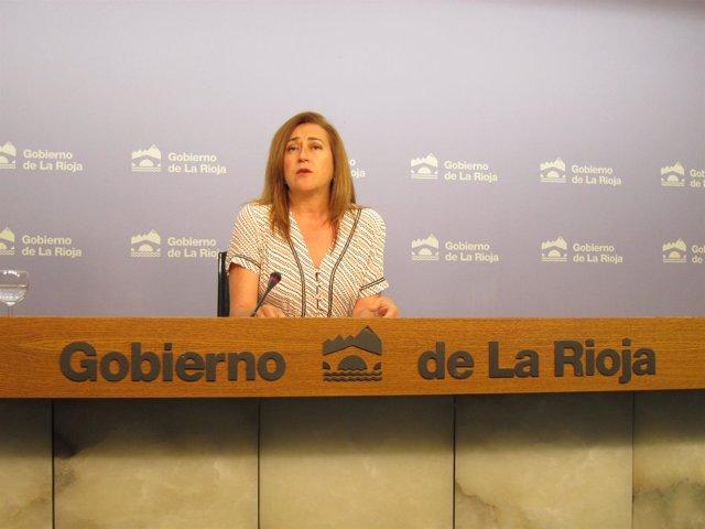 La portavoz del Gobierno, Begoña Martínez Arregui