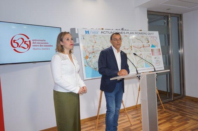 El presidente de la Diputación, Ignacio Caraballo, presenta el Plan Romero.