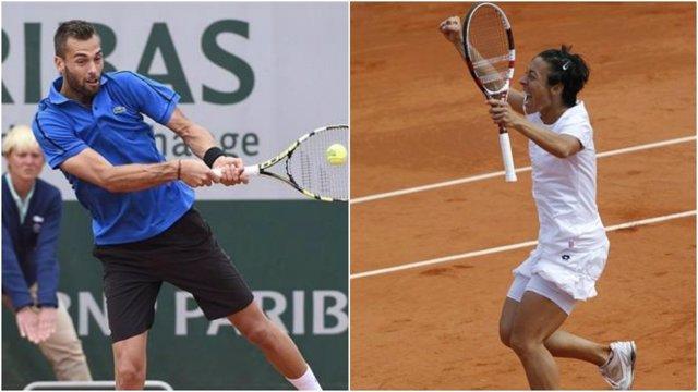 Paire y Schiavone, rivales de Nadal y Muguruza