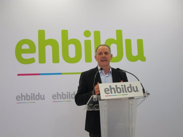Adolfo Araiz, portavoz parlamentario de EH Bildu