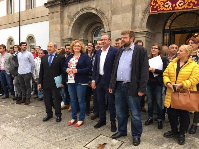 La Diputación de Lugo recibe a los participantes en el Ben Empregado 3.