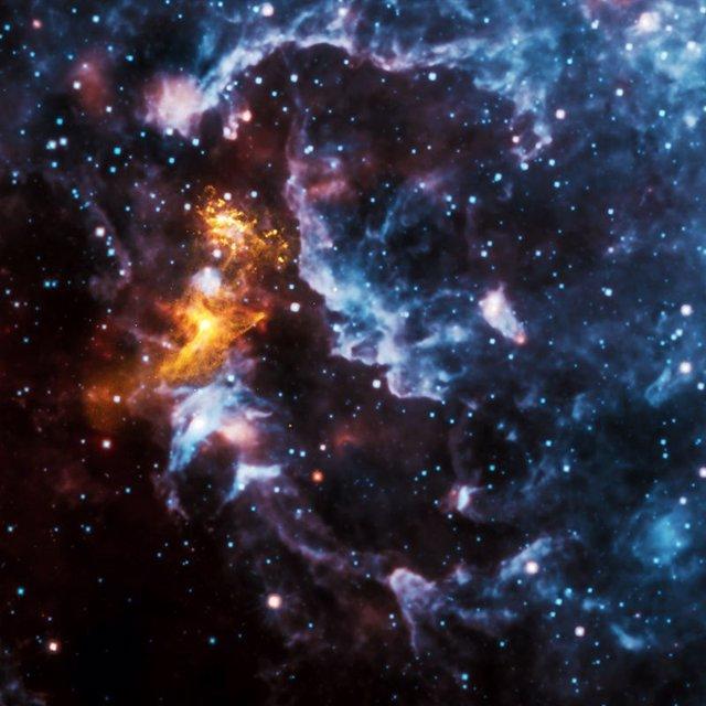 Radiación emitida por una estrella de neutrones