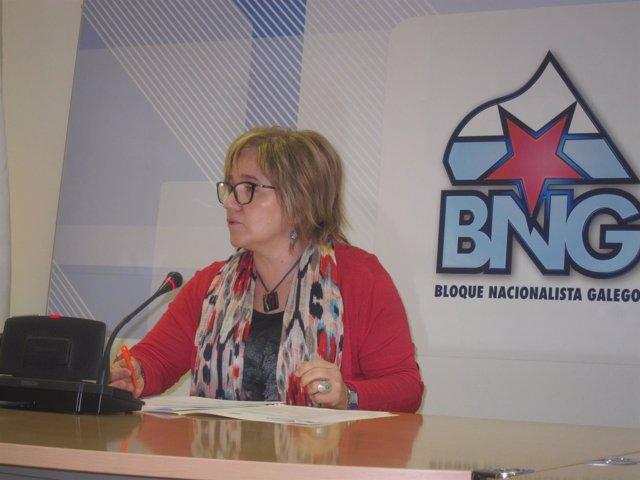 La diputada del BNG Montse Prado