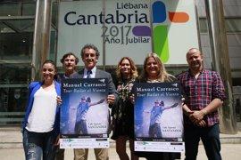 Manuel Carrasco actuará en Santander dentro de la programación del Año Jubilar