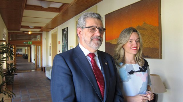 José Antonio Mayoral y Pilar Alegría