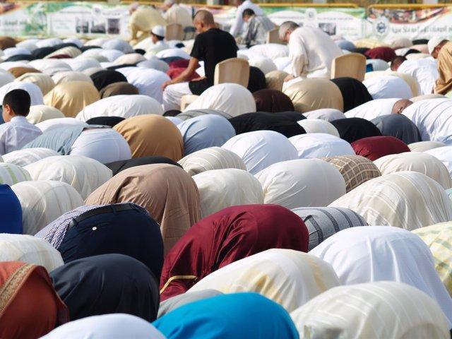 Rezo de final del Ramadán en Ceuta