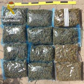 Desarticulada una organización dedicada al tráfico de drogas y detenidas 9 personas