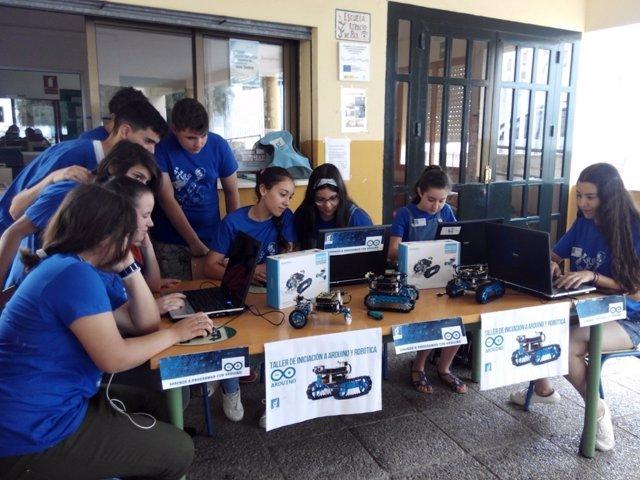 Taller de robótica Guadalinfo