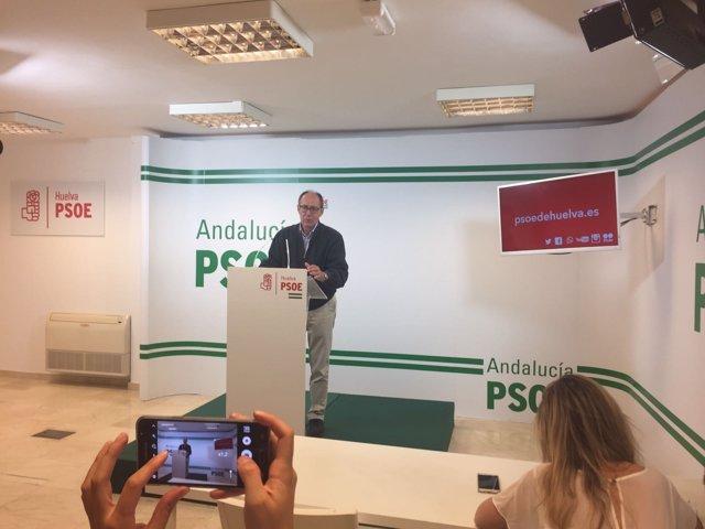 El diputado socialista por Huelva José Juan Díaz Trillo.