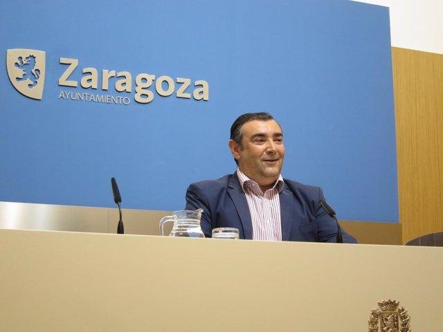 Alberto Casañal, concejal de Cs