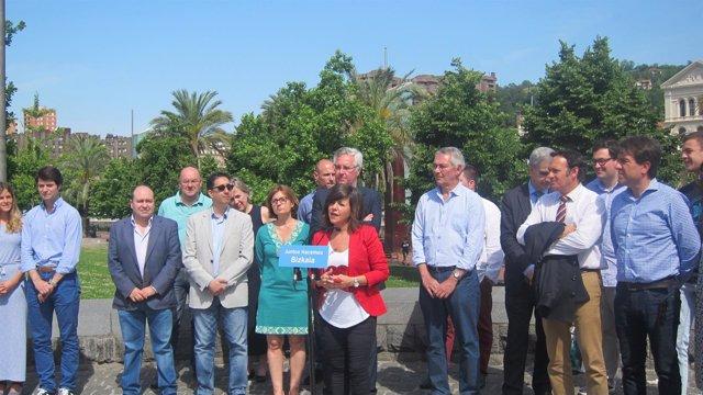 Nerea Llanos, candidata a la presidencia del PP de Bizkaia