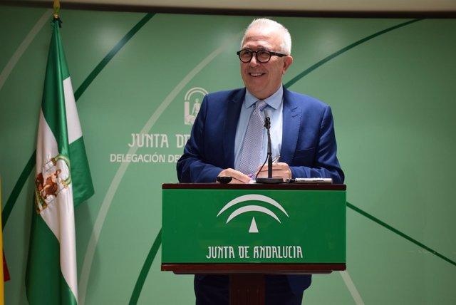 José Sánchez Maldonado en rueda de prensa