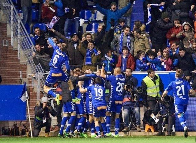 El Deportivo Alavés se mete en la final de Copa