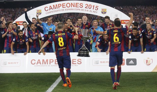 El Barcelona, campeón de Copa