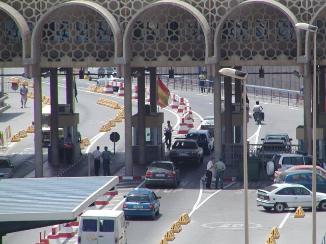 Frontera Tarajal de Ceuta