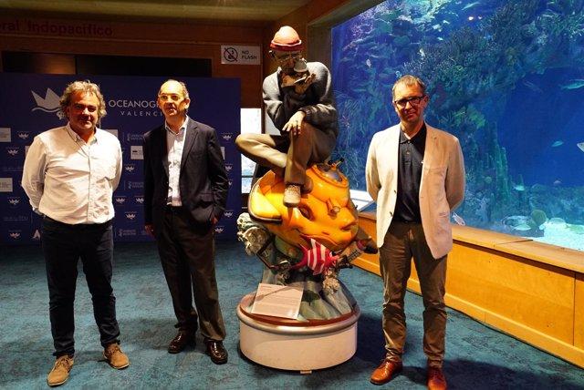 El Oceanográfic Inaugura El Festival Internacional De Imagen Submarina
