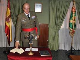 El teniente general Miguel Martín Bernardi, segundo Jefe del Estado Mayor del Ejército de Tierra
