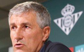 """Quique Setién: """"Se va identificar al Betis con una forma de jugar"""""""