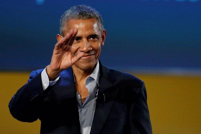 Barack Obama en Milán, 2017