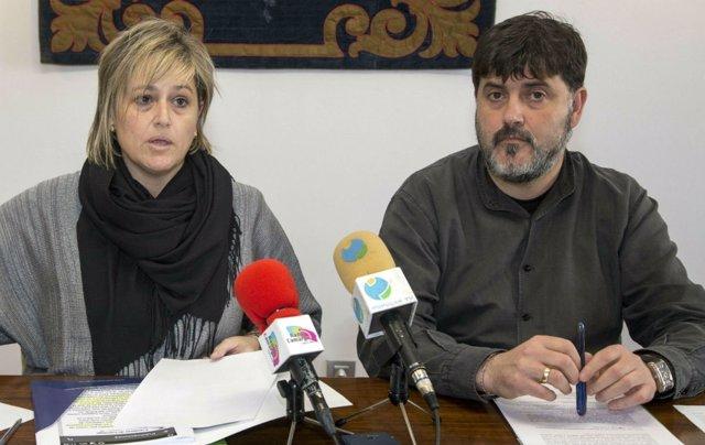 Esther Bolado y Hector Lavín