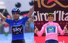 Landa encuentra su premio y Quintana se enfunda la 'maglia rosa'