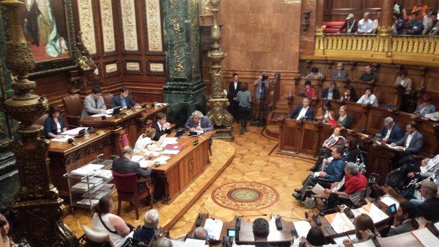 Pleno del Ayuntamiento de Barcelona