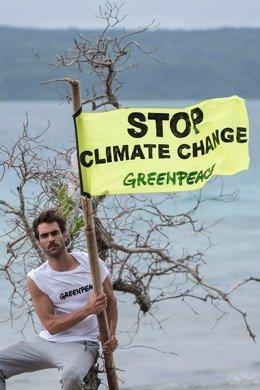 Jon kortajarena, embajador de Greenpeace