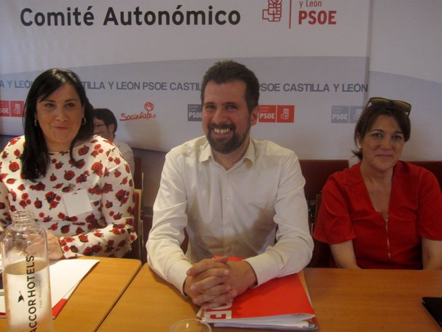 Tudanca, en el Comité Autonómico del PSCyL.