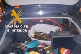 Dos detenidos por robar una gasolinera tras saltarse un control de tráfico en Ávila