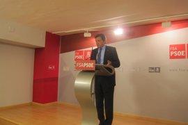 """Javier Fernández cree que hay que reconocer """"la división"""" interna del PSOE y rechaza el estado plurinacional de Sánchez"""