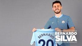 Bernardo Silva, nuevo jugador del Manchester City