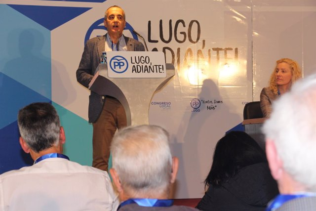 Ramon Carballo en el congreso local del PP