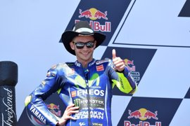 Rossi sale del hospital tras su accidente de motocross