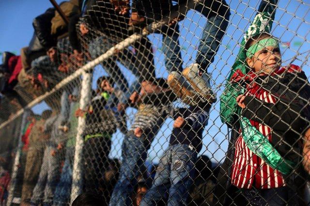 Concentración en la Franja de Gaza