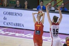 España vence a Canadá (64-42) en su estreno en el Torneo Ciudad de Torrelavega