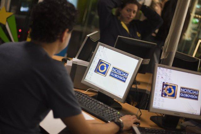 Trabajador de Globovisión