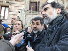 La ANC, Òmnium y AMI se reúnen este sábado de forma extraordinaria tras la carta de Rajoy