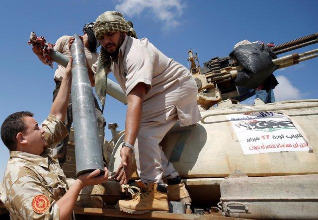 Ofensiva de las fuerzas libias sobre Sirte