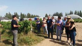 La Junta divulga conocimiento sobre el cultivo ecológico de frutos rojos con una Aula Agroecológica en Almonte (Huelva)