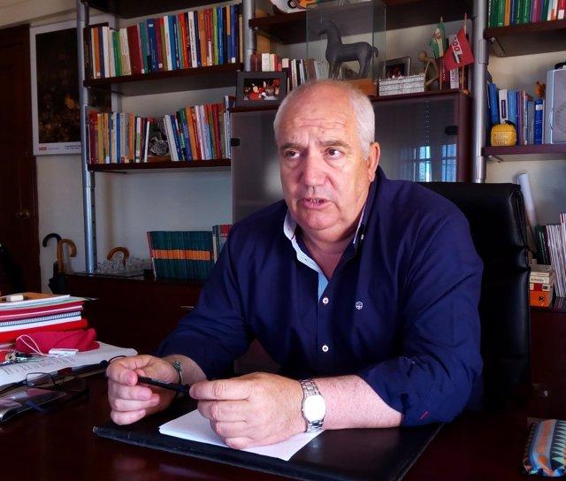 Francisco Carbonero, secretario general de CCOO-A.