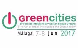 Logotipo Greencities 2017