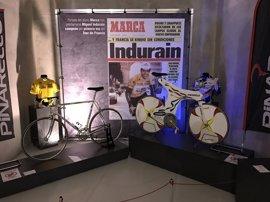 El Museo del Deporte celebra los 25 años de la primera victoria de Indurain en el Giro exponiendo la 'Espada'